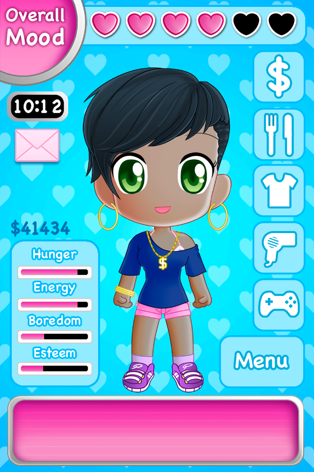 Pocket Sweetie Screenshot - Style Your Girl by Mantastic001