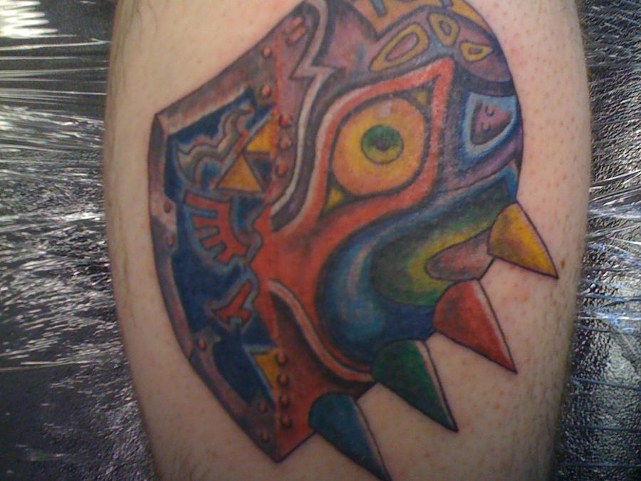 Majoras Mask Tattoo LegendMajoras Mask Tattoo