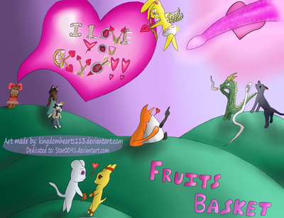 Happy Valentine's Day, Fruits-Basket by kingdomhearts113