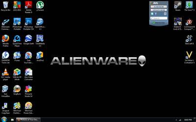 My Current Desktop Setup by LordDavid04