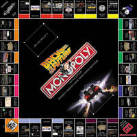 Back To The Future Monopoly by LordDavid04