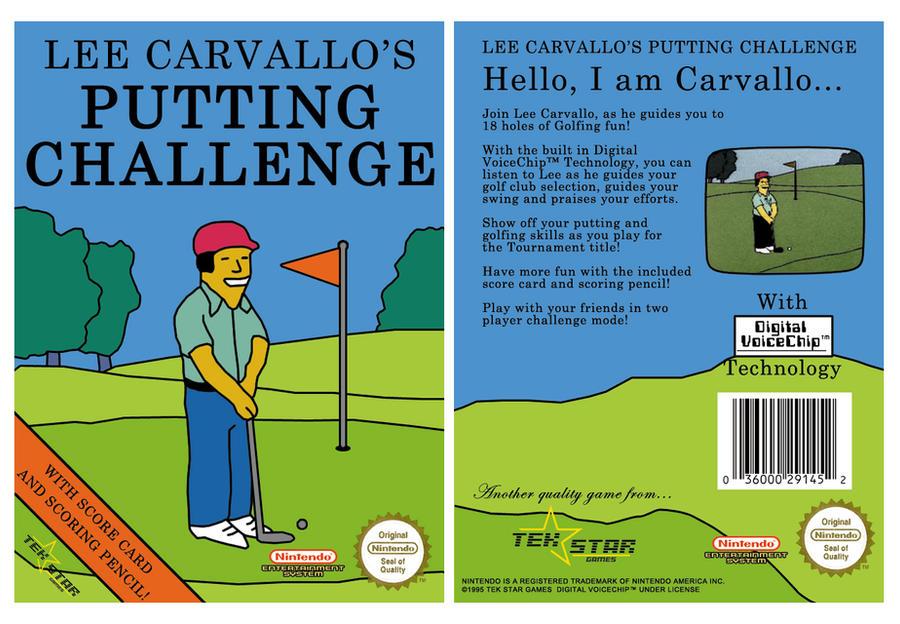Lee Carvallo's Putt Challenge
