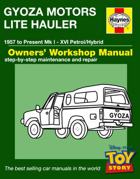 Haynes Manual Toy Story Truck