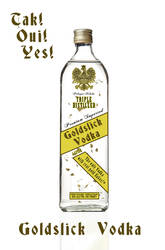 Goldslick Vodka by LordDavid04