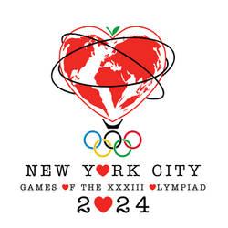 NYC 2024 Olympics Logo