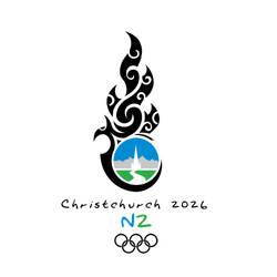 Christchurch 2026 Olympics Logo