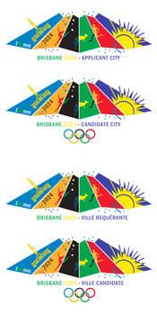Brisbane 2024 Bid Logo
