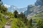 Mountain Path to Baeregg by enaruna