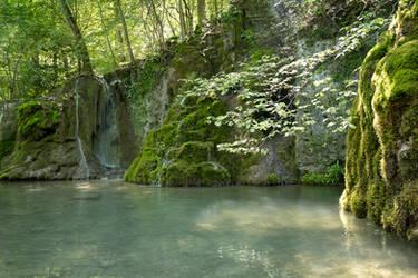 The Guetersteiner Waterfalls