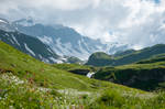 Mountains in the Bernese Alps