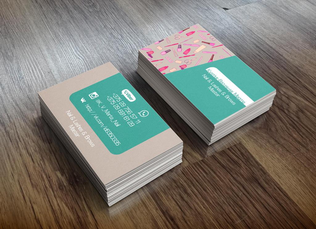 Nail master\'s Business Card by Avarosa91 on DeviantArt
