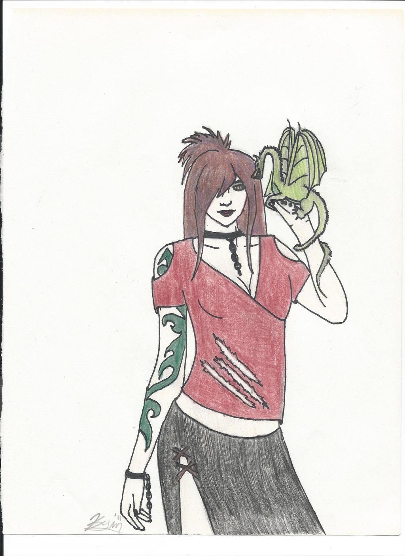 Dragon Lady (1) by Kinara92