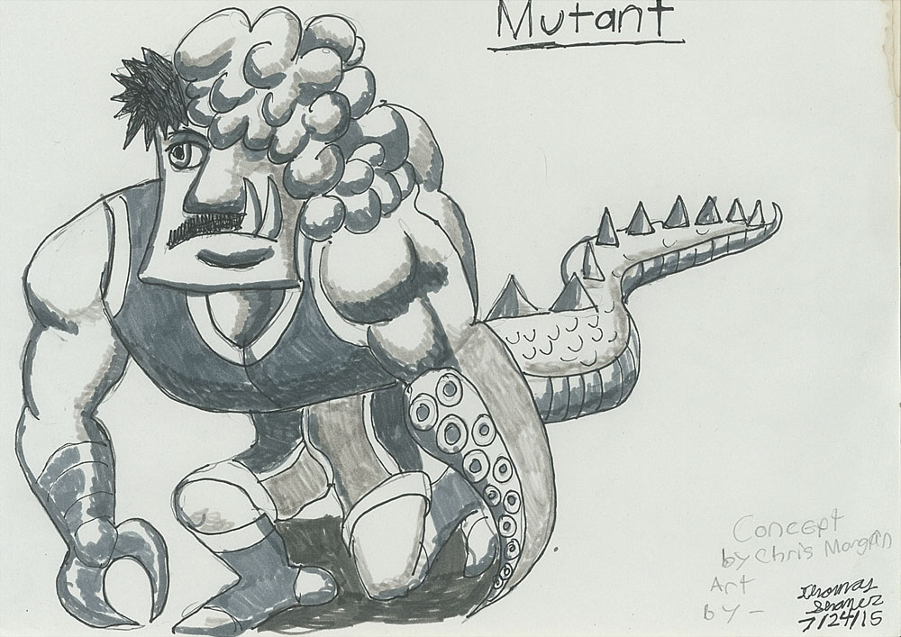 Mutant by Ronin356