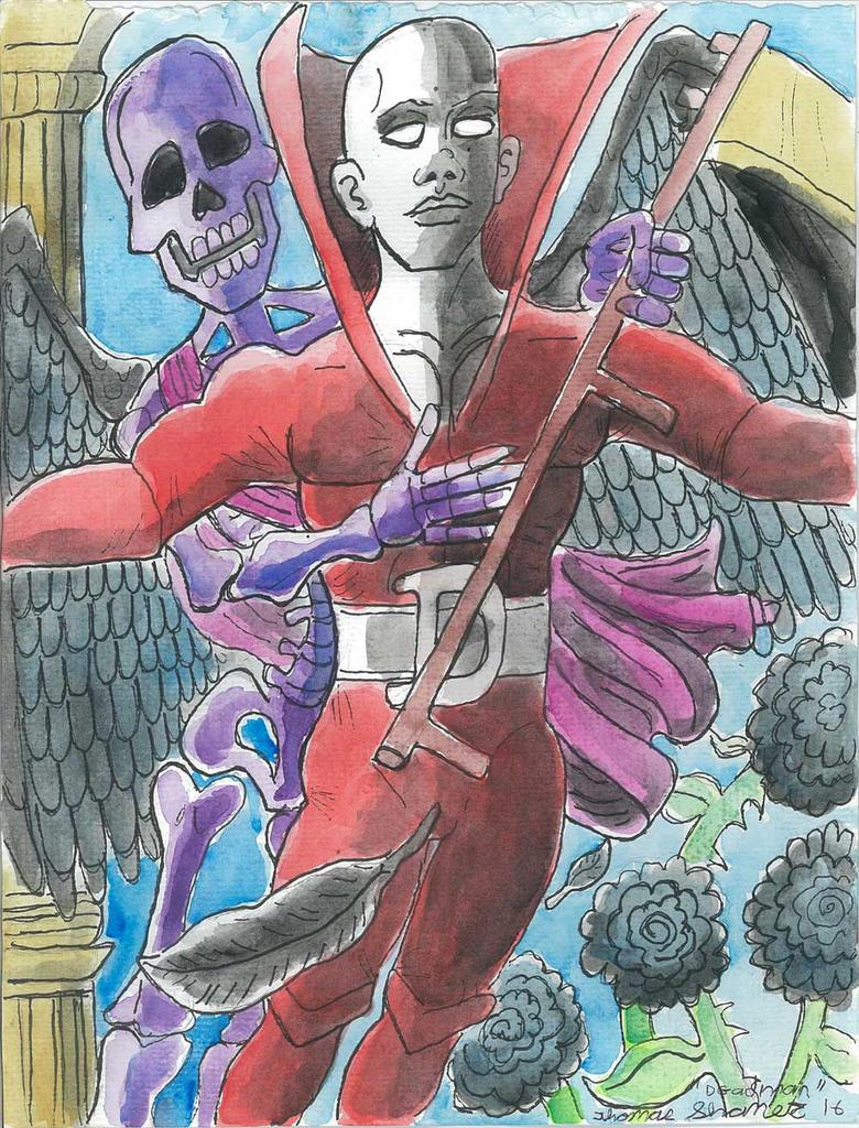 Deadman: Don't fear the reaper 1. by Ronin356