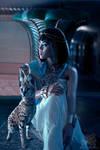 Cleopatra at night