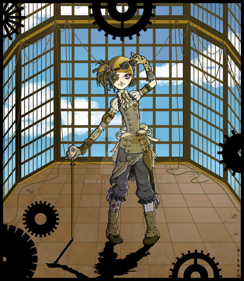 Steampunk by arkaya