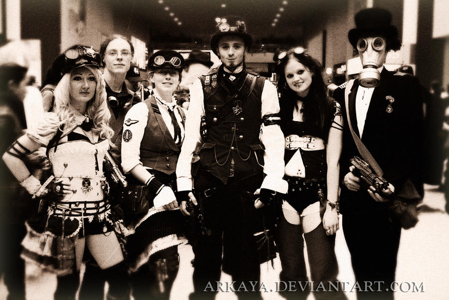 Steampunk crew by arkaya