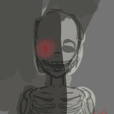 Dead Behind the Door by lovedtrashcan