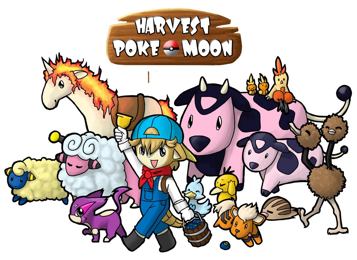 Harvest Pokemoon by pahein