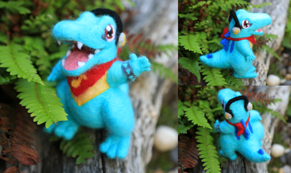 Totodile Commission by pahein