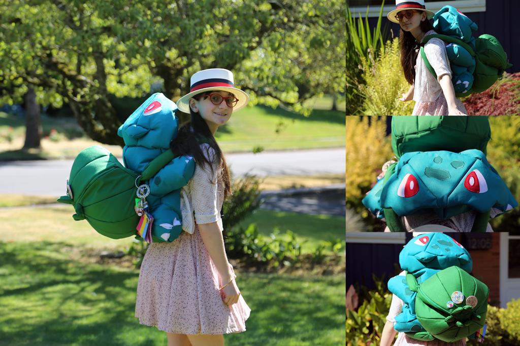 Bulbasaur Backpack by pahein