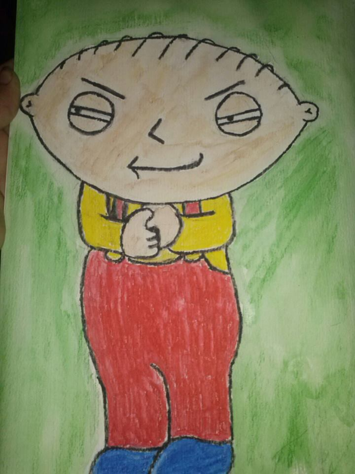 Stewie by DaisyTailsMousery