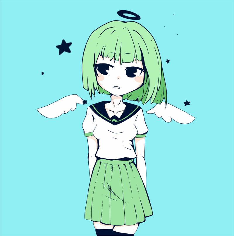 little angel by pupupun