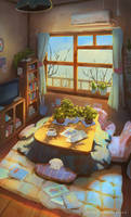 Room - Background Practice