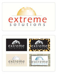 Logo ext solutions by cl3n10