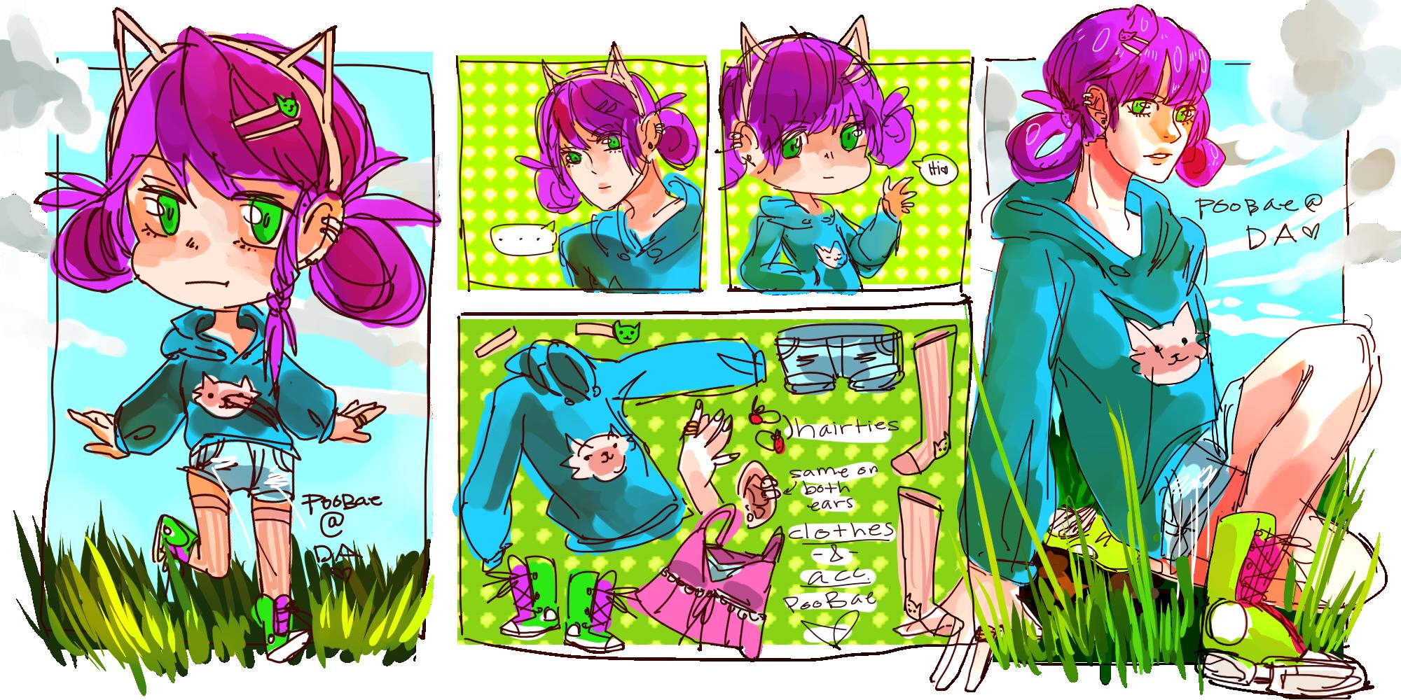 Character Reff by MushroomMilady