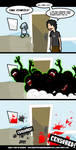 zombies + questionable content by thekidnemo