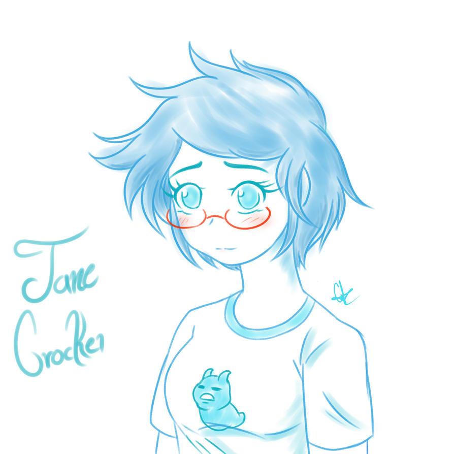 Jane Crocker - Homestuck by miko-hikari34