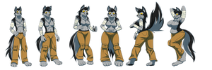 Gw0lf TG sequence (commission)