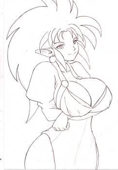 Sketchbomb2 - Busty Ryoko