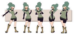 CM- Chie hourglass Sequence by Kojiro-Brushard