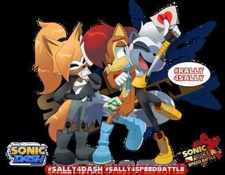 Rally 4 Sally Together! by Kojiro-Brushard