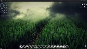 Desktop Theme #1 (Rainmeter)