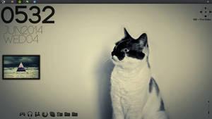 Desktop #2 (Rainmeter)
