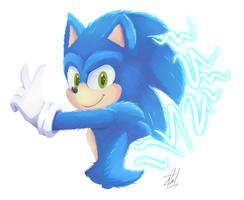 Sonic (movie design)