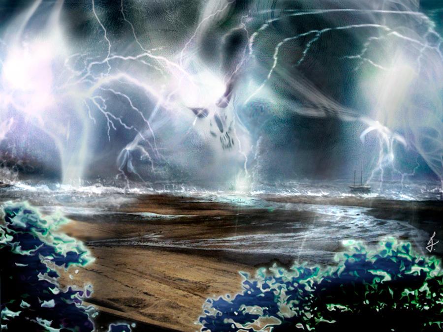 Lightning elemental by ricky4