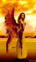 Angel of serenity by ricky4