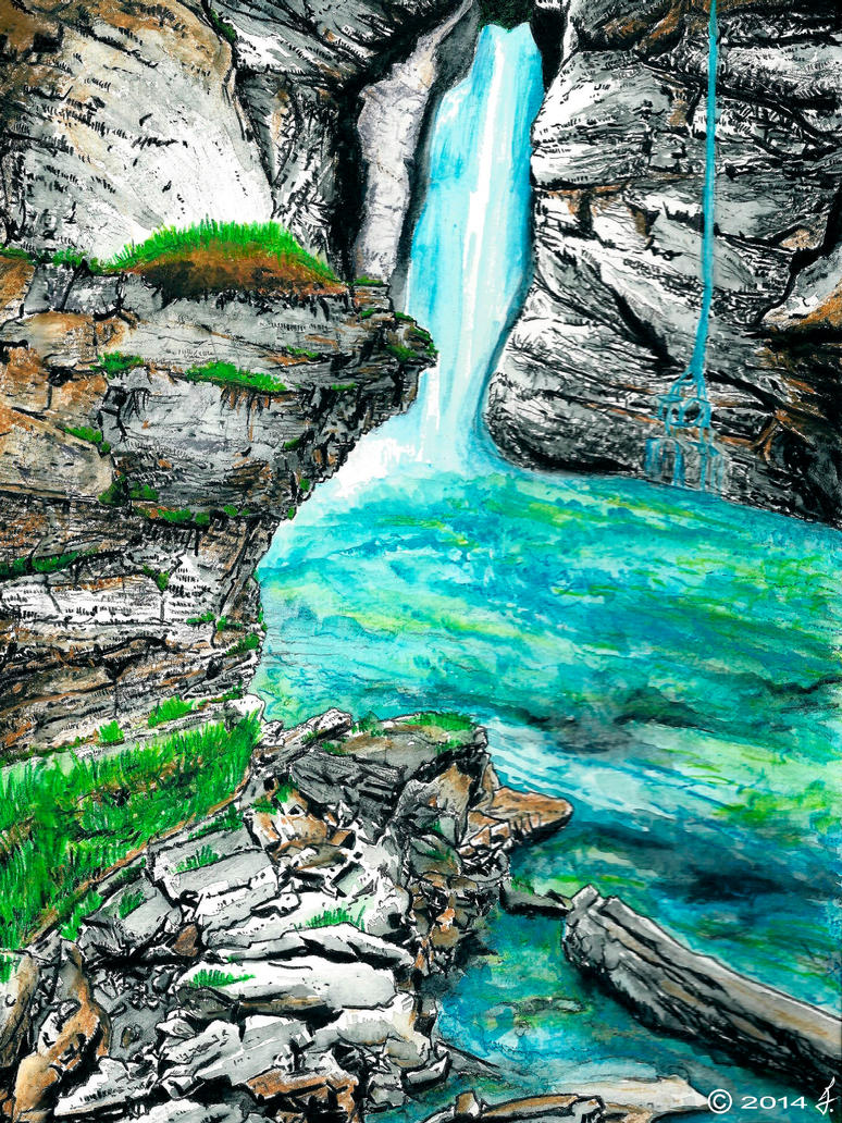 Waterfall by ricky4