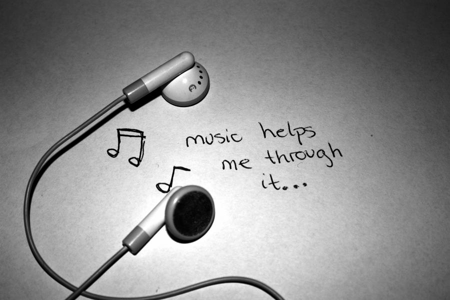 music helps me through it by ~beateo on deviantART