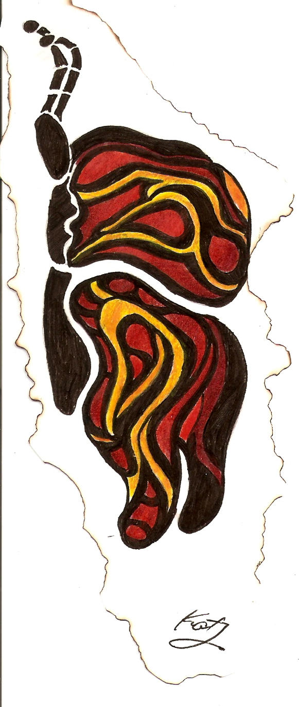 Lepodaptra - shoulder tattoo