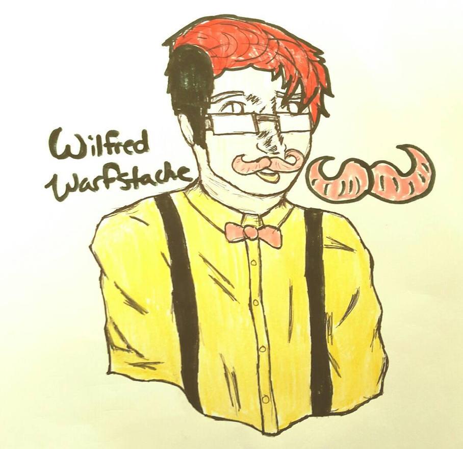 Wilfred Warfstache  by XBlushiexx