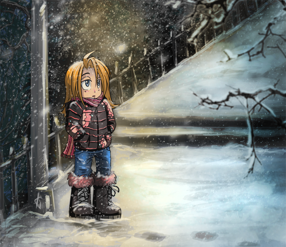 hello winter by TooNo