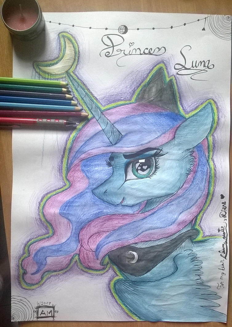 Princess Luna by magicalnightstars