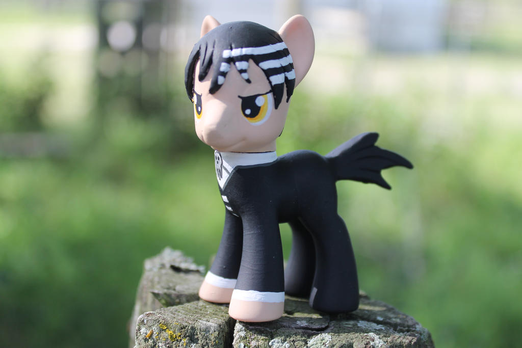 My Little Pony Custom Death the Kid Souleater