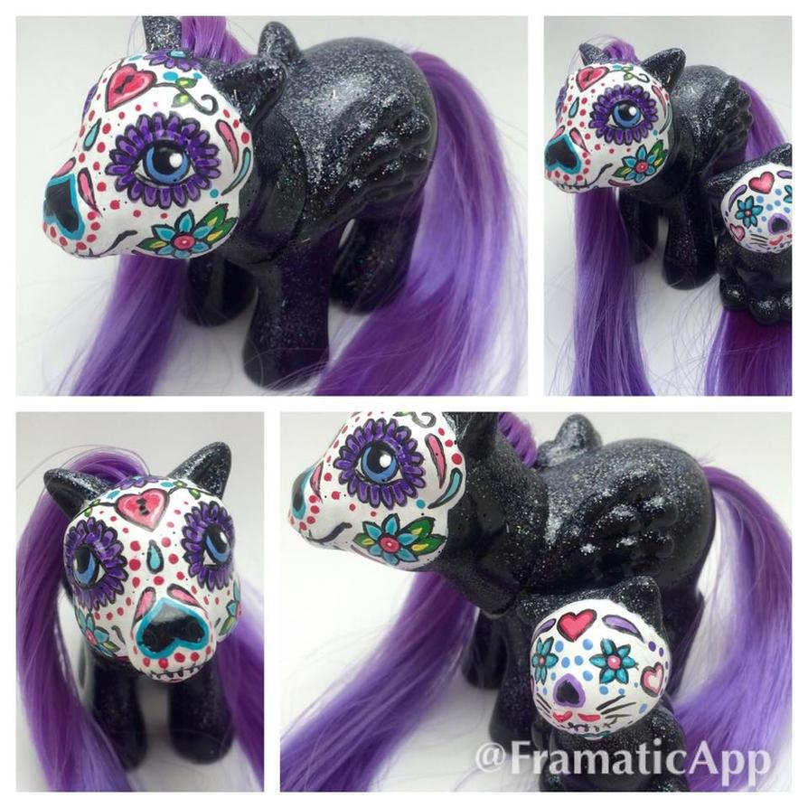 Sugar Skull Pony Gift by TiellaNicole