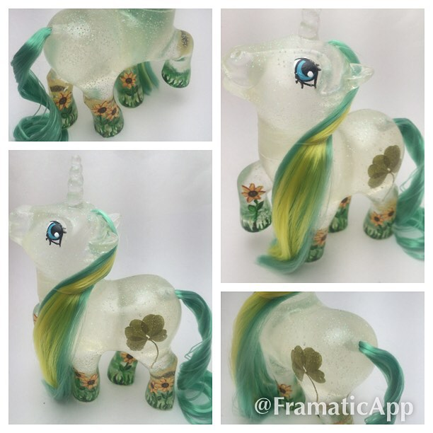 Clover Sunflower Custom Pony by TiellaNicole